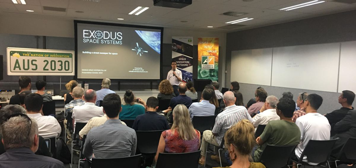 Exodus at the Space Innovation Network